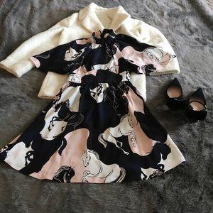 Kate Spade Stallions Dress 0